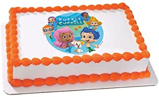 Bubble Guppies Licensed Edible Cake Topper #35339