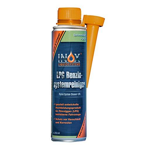 INOX® LPG Benzinsystemreiniger Additiv, 250ml - Systemreiniger für Autos mit Gasanlage