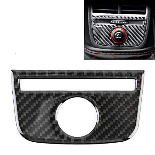 PANGTOU El panel decorativo de la salida de aire posterior de la fibra de carbono del coche para los productos moldeados interiores de Audi A3