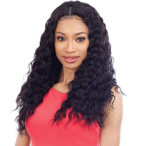 "Naked 100% Human Hair Pre-Loop Type Crochet Braid - LOOSE DEEP 16"" (NATURAL)"