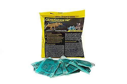 GENERATION PAT' Anti Souris et Rats au diféthialone 150 g (1)