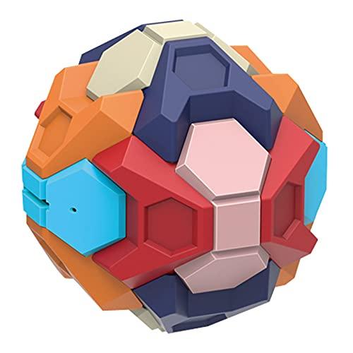 DZC Educación temprana Inteligencia Desmontaje Bola de Juguete, Ensamblaje Desmontable 3D Baloncesto Ball Juguetes, Mejores Regalos montados para niños
