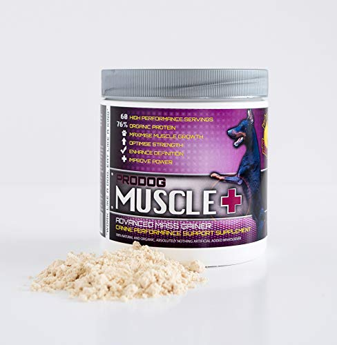 ProDog Nutrition Muscle+ | Natural & Organic Weight Mass Gainer For Dogs