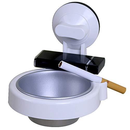 MYXMY Mode kreative Persönlichkeit Kunststoff frei Stanzen Wand-WC Aschenbecher einfache Trend Aschenbecher praktische Aschenbecher