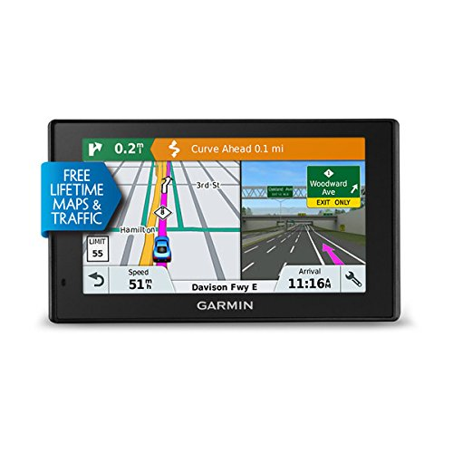 Garmin Drive Smart 51 LMT-S EU Navigationsgerät, Europa Karte, lebenslang Kartenupdates und Verkehrsinfos, Smart Notifications, 5 Zoll (12,7 cm) Touchdisplay, 010-01680-12