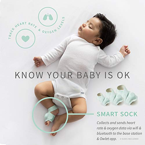 Owlet Smart Baby Monitor Duo (Smart Sock + Camera)