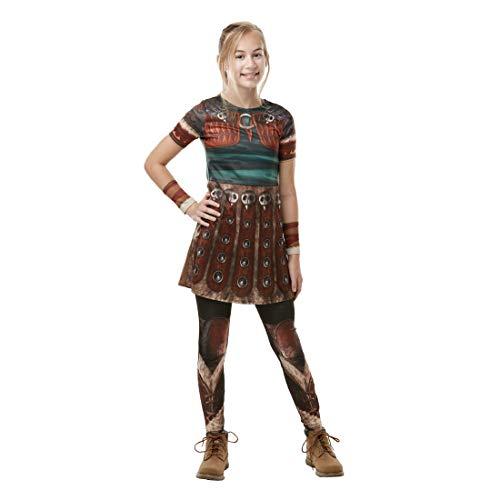 Rubies 300007 9-10 - Disfraz de dragón para niñas, multicolor