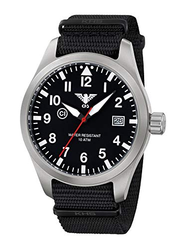 KHS Reloj Hombre Airleader Steel KHS.AIRS.NB