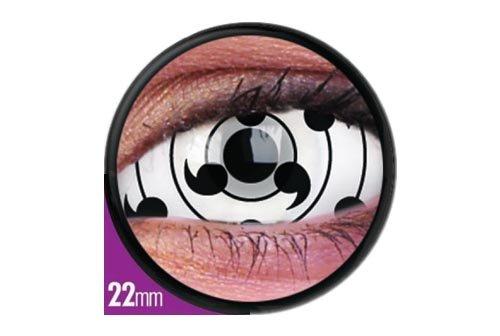 Halloween Kontaktlinse Lustige Linsen Tailed Beast 6 Monate Einweg 22 mm stärke 0.00 von ColourVUE