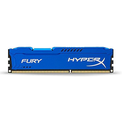 HyperX HX316C10F/4 Fury Blau Arbeitsspeicher, DDR3, 4GB, 1600MHz, CL10, 240-pin UDIMM