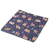 Pizeok Toallas de Manos Multicolourcolor - 100% Microfibra Suave |Colección de Toallas Altamente absorbentes, Cerdos con Motivos navideños