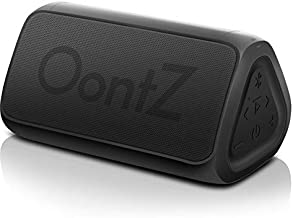OontZ Angle 3 RainDance – Waterproof Edition - Portable Bluetooth Speaker, Louder Volume, Crystal Clear Stereo Sound, 100ft Wireless Range, Microphone, IPX7, by Cambridge SoundWorks (Matte Black)