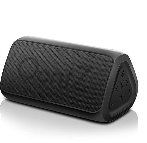 OontZ Angle 3 RainDance Edition Portable Bluetooth Speaker, Louder Crystal Clear Stereo Sound, Rich bass, 100 Ft Wireless Speaker Range, IPX7, Bluetooth Speakers (Black-Waterproof)