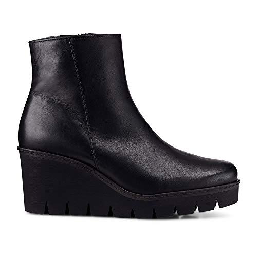 Gabor Utopie Womens Klobige Keil Heel Ankle-Boots 5.5 UK/ 38.5 EU Schwarz