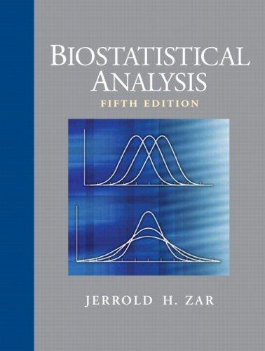 Biostatistical Analysis (5th Edition)