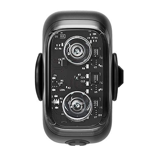 Cliq クリック自転車 テールライト リアライト スマホと連動 ワイヤレステールライト 盗難防止 IP67防水 防塵 高輝度LED Bluetooth usb充電 盗難防止アラーム ブレーキランプ/カバン 服 わんちゃんにも装着可能 夜間散歩 (Cliq