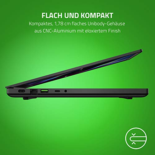 Razer Blade 15 Gaming Laptop 2020: 15,6 Zoll Full HD 144Hz Basis Modell, Intel Core i7 10th Gen, NVIDIA GeForce RTX 2070, 16GB RAM, 512GB SSD Chroma RGB Beleuchtung | Qwertz DE-Layout