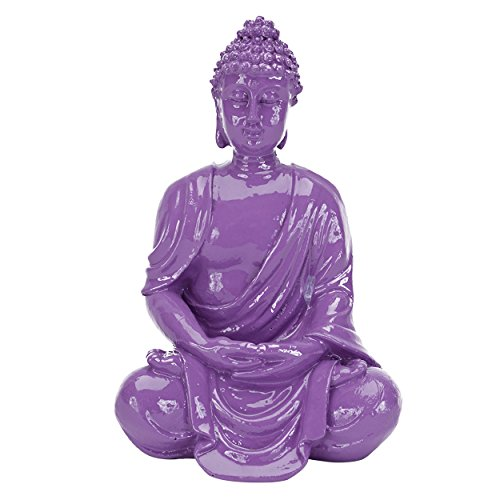 Penn-Plax 64656 Deco Replicas Sitting Buddha, Small, Purple