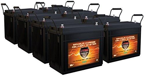 12v 125ah deep cycle battery - 9