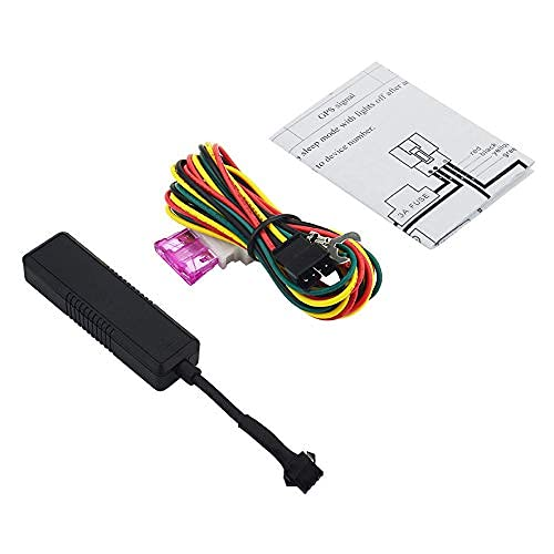 HYCy Rastreadores GPS Dispositivo de rastreo de vehículos gsm Localizador GPS Alarma electrónica de Exceso de Velocidad para automóvil Fácilmente para automóvil Motocicleta
