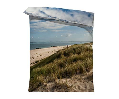 fotobar!style Bettbezug 135 x 200 cm EIN Motiv aus dem Kalender Sylt - Bilder Einer Insel
