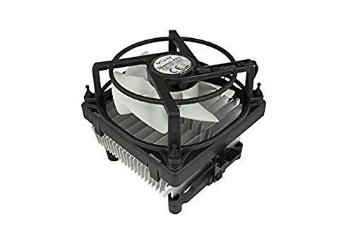 GELID Solutions Siberian | Low Profile Luftkühler mit Premium Aluminium Kühlkörper | Geräuschloser 92mm PWM-Lüfter mit hohem Luftstrom | Kompatibel mit Intel und AMD