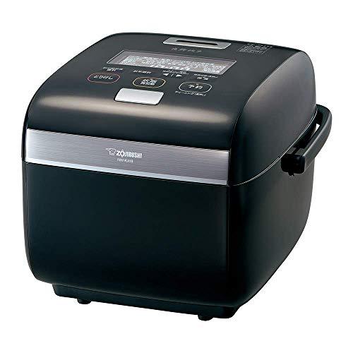 象印 炊飯器  1升 圧力IH式 炎舞炊き プライムブラック NW-KA18-BZ