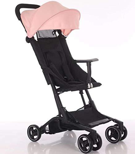 Nanetty Travel Capota rosa - Silla de paseo ultraligera
