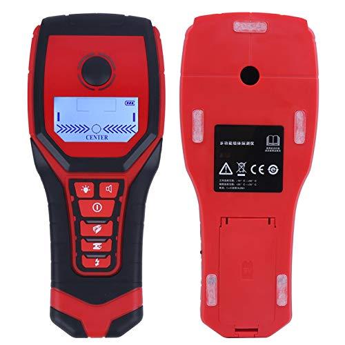 Equipo Detector de pared de alta sensibilidad Probador de metal de alambre de localización precisa Portátil para madera con profundidad máxima de detección Metal magnético 120 mm / 4.7in