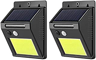 48LED COB Outdoor Solar Lamp Motion Sensor IP65 Path Yard Wall Night Light (2Pcs)
