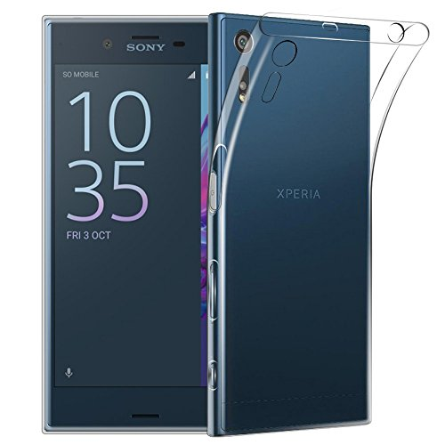 Sony Xperia XZ Case, Qosea Crystal Clear Scratch Proof Transparent TPU Protective...