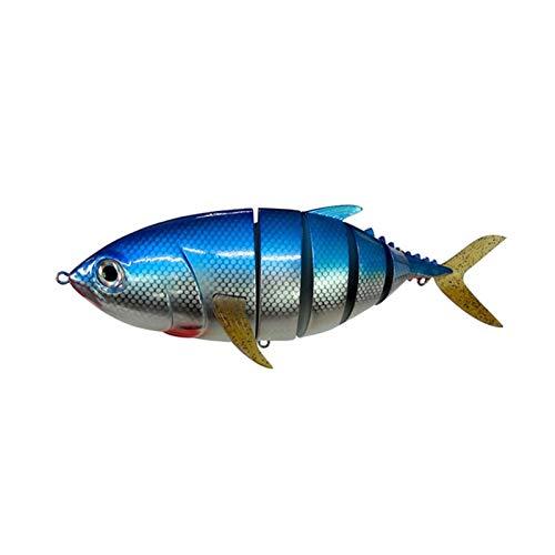 KKAAMYND Pesca Lure Bait PLÁSTICO Duro Bait 15.75IN / 1027G Artificial Multi articulado Switebait Tiro Largo (Color : C)