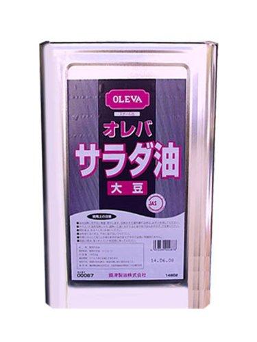 オレバ 業務用 大豆サラダ油 16.5kg