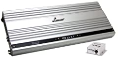 AUDIO EVOLUTION: The Lanzar car speakers amp features regulated Pulse Width Modulated MOSFET power supply that maintains rated power over a wide range of battery voltage. SOUND SPECIALIZATION: This high-powered amplifier monoblock is cutting edge tec...