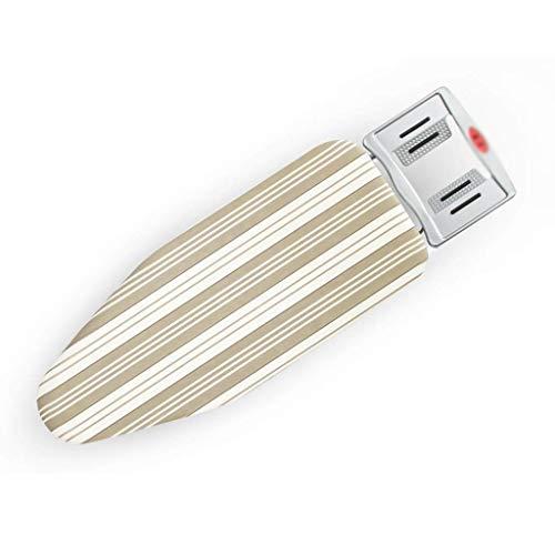 LQTYB Tabla de Planchar de sobremesa: Dormitorio en el hogar Mesa de Planchar Plegable, pequeña Estructura de Metal, Plancha eléctrica, 104.5 * 33 * 11 cm (Color : B)