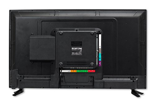 Sceptre Slim 40 Inch 1080p LED TV with Build in DVD Player E415BD-FR, TV-DVD Combo True Black (2017)