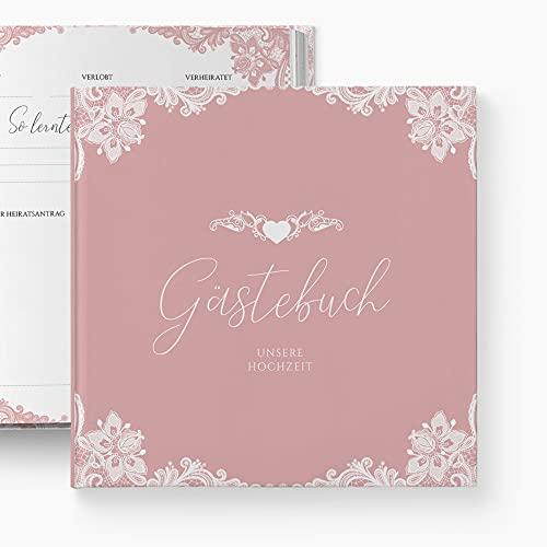 glupspilz | Gästebuch Hochzeit | mit Fragen zum Ausfüllen | Romantik