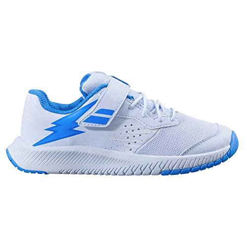 Babolat Pulsion All Court Kid Blanco Azul Junior 32F21518 1060