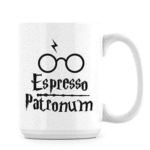 Harry Potter Mug Espresso Patronum Coffee Mugs Hogwarts Gift Cup