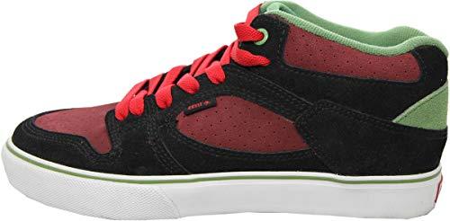 Emerica Skateboard Schuhe HSU Black/Red - Sneaker Sneakers Skateboard Shoes, Schuhgrösse:41