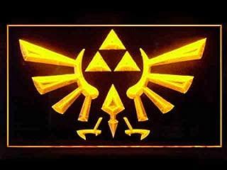 Legend Of Zelda Triforce Led Light Sign