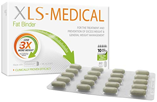 XLS Medical Fat Binder Tablets Weight Loss Aid, 60 Tablets