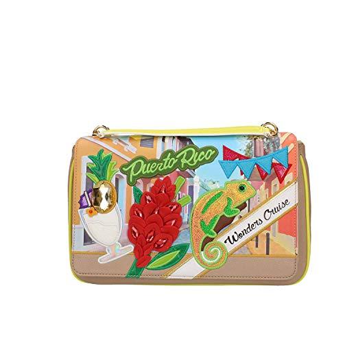Braccialini Borsa a mano Cartoline B12795-YY-818-UNI 20cm x 31cm x 16cm