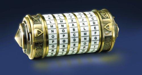 El código Da Vinci: pequeño cryptex