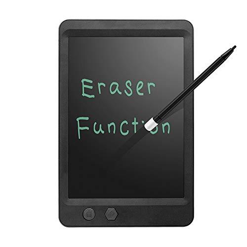 Borrado parcial tablero de dibujo tablero de graffiti para niños tableta de escritura a mano LCD tableta de dibujo digital portátil juguete educativo 8.5 pulgadas negro
