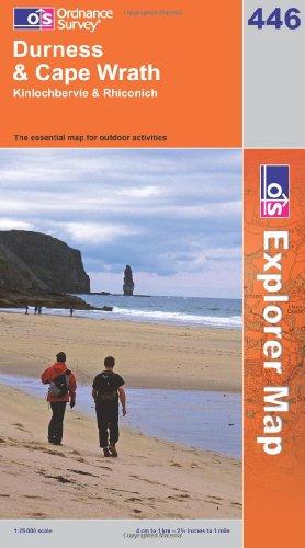 OS Explorer map 446 : Durness & Cape Wrath