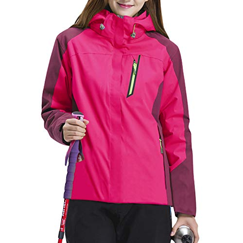 Sidiou Group Outdoor Waterdichte Jassen 3 IN 1 Hooded Softshell Jas Vrouwen Trekking Jas Sport Wandelen Camping Klimmen Ski Fleece Jassen