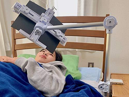 寝ながら読書/スマホ・タブレットミニライト付き