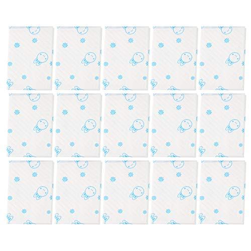 Ultnice 30 camas desechables cama, protector de colchón para recién nacido o bebé absorbente, paños desechables para incontinencia, protector de cama