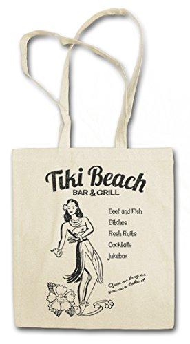 Urban Backwoods Tiki Beach Bar & Grill Boodschappentas Schoudertas Shopping Bag